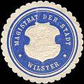 Siegelmarke Magistrat der Stadt Wilster W0212752.jpg