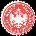 Siegelmarke Stadtgemeindeamt Völkermarkt W0318524.jpg