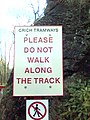 Sign At Crich Tramway Museum, Derbyshire - geograph.org.uk - 1650940.jpg