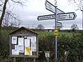 Sign and notice board - geograph.org.uk - 628896.jpg