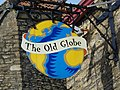 Sign for the Old Globe Inn, Frome - geograph.org.uk - 1218131.jpg