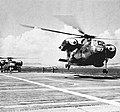 Sikorsky HR2S-1 taking off from USS Boxer (LPH-4), in 1959.jpg