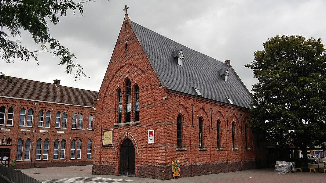 Sint-Hubertusschool, kapel