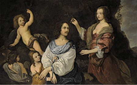 Sir Peter Lely-An Allegory of Love