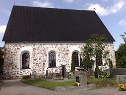 St. Peter's Church in Siuntio