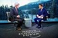 Sky Arabia Host Muhammed Le Interviews Secretary Kerry at the World Economic Forum in Davos (32368960365).jpg