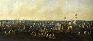 Maximilien de Hénin-Liétard - Battle on the Zuiderzee, by Abraham de Verwer