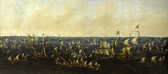 Zuiderzee - Dutch defeat Spanish fleet at Battle on the Zuiderzee in 1573