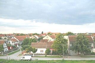 Slana Bara Urban neighborhood in South Bačka, Vojvodina, Serbia