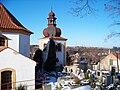 Slatina u Velvar, zvonice u kostela.jpg