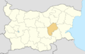 Sliven Province location map.png