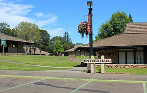 Umpqua Community College shooting - Snyder Hall, the scene of the shooting