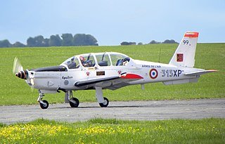 Socata TB 30 Epsilon military training aircraft by Socata