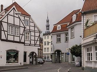 Soest, Germany - Image: Soest, straatzicht 3 foto 4 2010 08 09 09.51