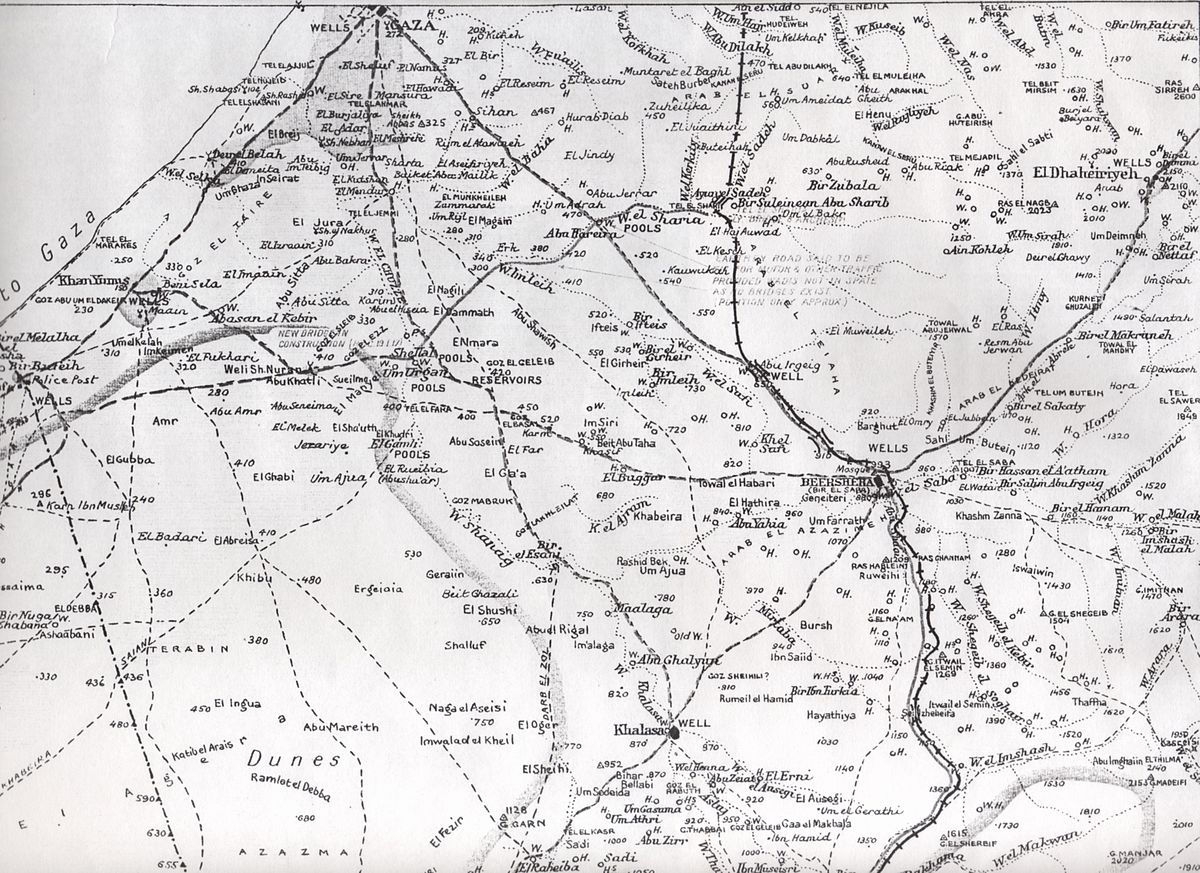 stalemate in southern palestine wikipedia