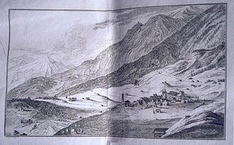 Soglio, Switzerland - Soglio from the Stemmatographia Saliceorum