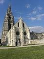 Soissons (02) St-Jean-des-Vignes Réfectoire Vue extérieure 2.jpg
