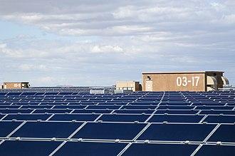 Topaz Solar Farm - Topaz Solar Farm solar panels