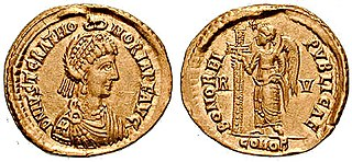 Justa Grata Honoria older sister of the Western Roman Emperor Valentinian III