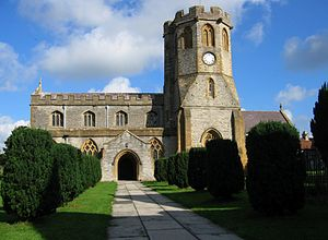 Somerton - St Michael's and All Angels church has origins which date from the 13th century.