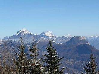 French Prealps - Image: Sommets Chartreuse