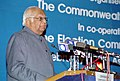 Somnath Chatterjee speaking at the inauguration of the Eighth meeting of the Commonwealth Chief Election Officers, organised by the Election Commission of India in co-ordination with the Commonwealth Secretariat, in New Delhi.jpg