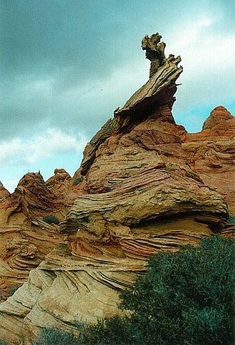 Coyote Buttes - The Magic Crest of South Coyote Buttes.