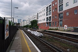 South Hampstead railway station MMB 04.jpg