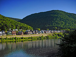 South Renovo and the West Branch Susquehanna River