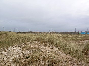 English: Southport Sand Dunes. Taken from Dune...