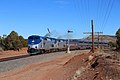 Southwest Chief at Bernal, New Mexico, February 2019.jpg