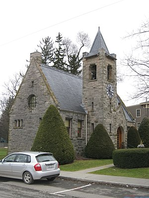 Jennie McGraw - Southworth Library, Dryden, New York established by Jennie McGraw in memory of her mother, Rhoda Southworth McGraw, and her grandfather, John Southworth