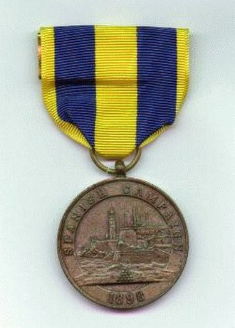 Obsolete military awards of the United States - Image: Spain Med Navy