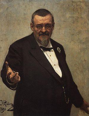 Włodzimierz Spasowicz - An 1891 portrait by Ilya Repin