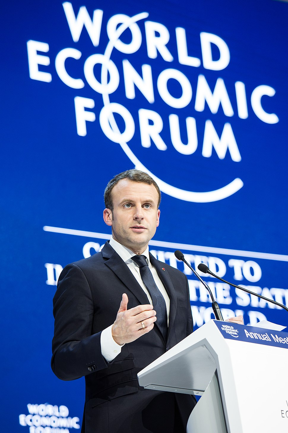 Special Address by Emmanuel Macron, President of France (39008127495)