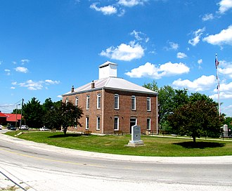 Spencer, Tennessee - Van Buren County Courthouse in Spencer