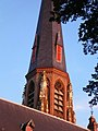 Spire of the church in Vaals.jpg