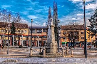 Požega, Serbia - Image: Spomen cesma Pozega
