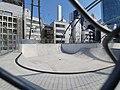 Sports ground at top of Miyashita Park 2.jpg