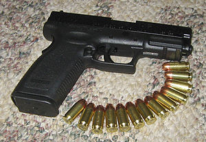 HS2000 - The .45 XD .45 ACP with 13 rounds of JHP