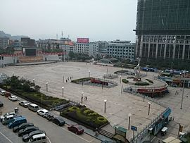 Sqare of Quan`zhou county,2015-5-10.jpg