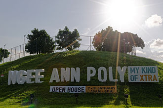 Ngee Ann Polytechnic - Image: Square of Ngee Ann Polytechnic