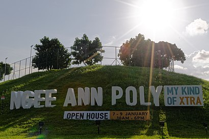 How to get to Ngee Ann Polytechnic with public transport- About the place