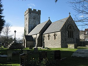 Llanmaes - St Cattwg's Church, Llanmaes