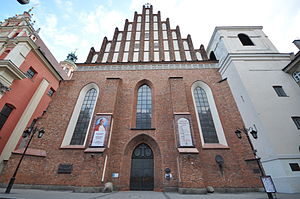 Warsaw - Construction of St John's Cathedral began in 1390. It is one of Warsaw's most ancient and important buildings.