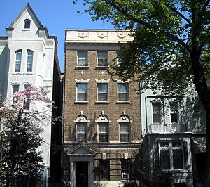 Simeon Price - Price's former home in Washington, D.C.
