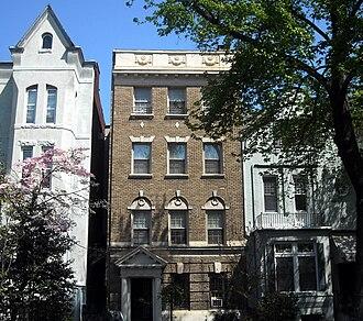 John Dowdy - Dowdy's former residence in the Dupont Circle neighborhood of Washington, D.C.