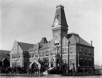 Loyola Marymount University - St. Vincent's College, third location, 1905