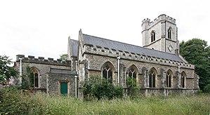 Arthur Ashpitel - Ashpitel's church of St Barnabas at Homerton