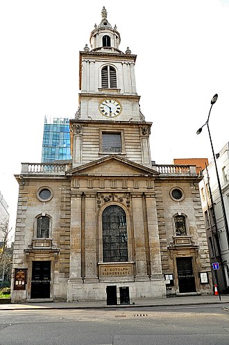 St Botolph-without-Bishopsgate - Exterior photo of St. Botolph-without-Bishopsgate